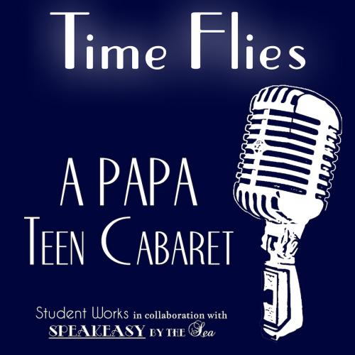 Teen Cabaret Logo Time Flies